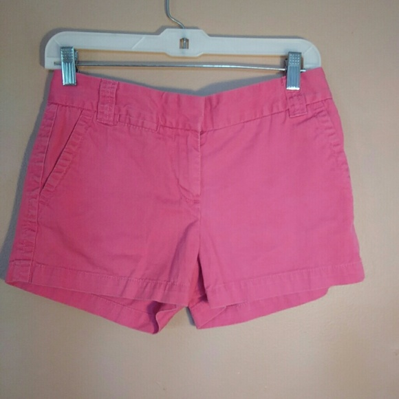 J. Crew Pants - J. Crew 0 Pink City Fit Chino Shorts